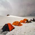 z zewnątrz namioty prezentują się nieźle