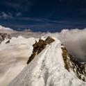 grańka szczytowa Cerro Nore, dziś zbyt już niepewna