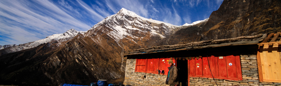 Trekking around Dhaulagiri movie
